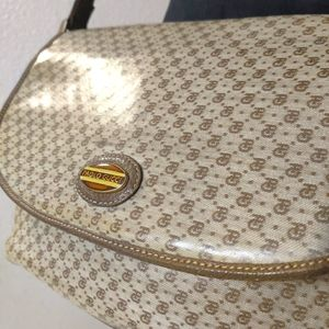 Paolo GUCCI Authentic VTG Monogram Crossbody Bag